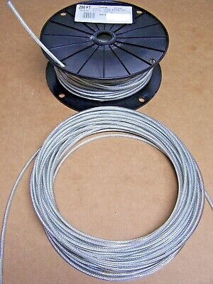 VINTAGE MARINE BOAT PULLEY TILLER ROPE STEERING CABLE 50 ft. NEW & ONLY $15.65