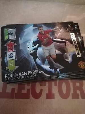 Panini UEFA Champions League 2012-2013 LIMITED EDITION  Robin Van Persi , used for sale  Shipping to Nigeria