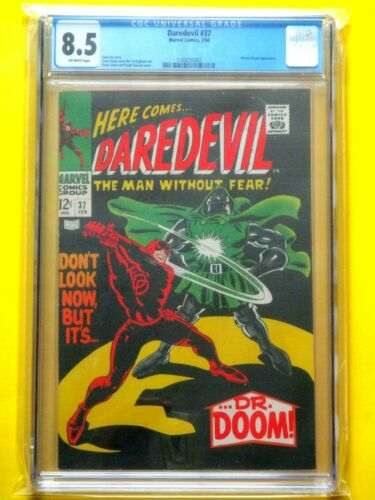 Daredevil #37 - CGC 8.5 - Classic Doctor Doom Cover