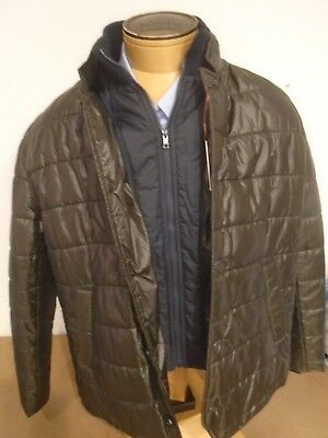 Pick Stitch Jacket - Peter Millar Pick Stitch Collection Quilted Parka Jacket NWT XL $595 Hunt Green