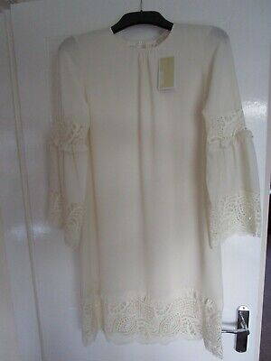 MICHAEL KORS  Dress Size Small, Laced Style Trim & Cuffs New, Tags, RRP £195.00.