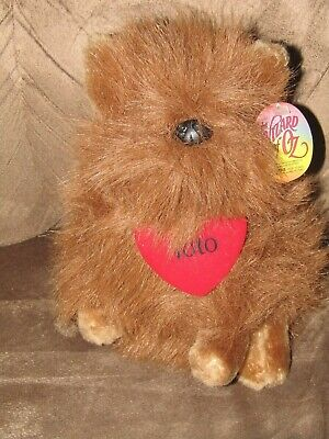 Stuffed Toto from  Ice Show Paper Tag in Ear 7