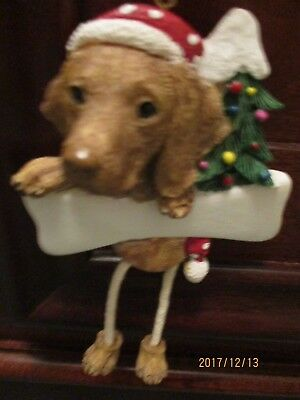 VISZLA   ~ DANGLING DOG ORNAMENT                                  55