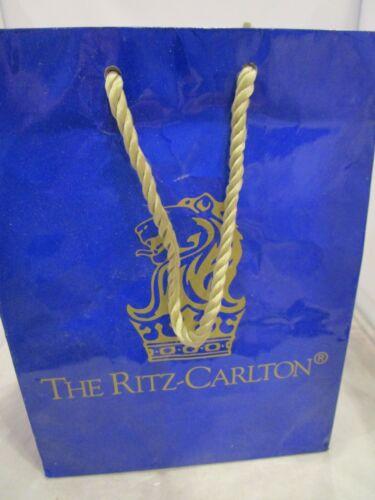 Ritz Carlton Shopping Bag Gift Bag Resuable Used One Time