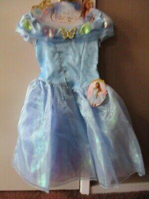 Disney Cinderella Costumes (Disney Cinderella Ella's Blue Dress Girls Dress Up Costume Size)