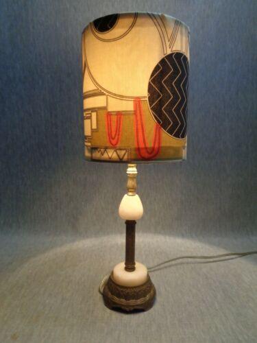 * Priced for Instant Sale!  Egyptian Revivalist Art Deco Lamp, c. 1925