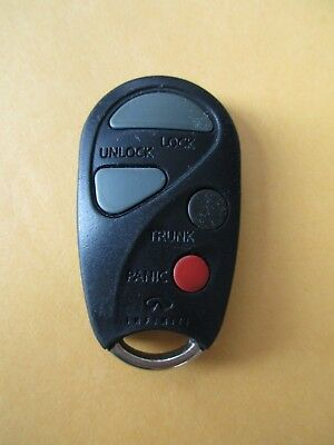2000 2001  INFINITI QX4 I30 4 BUTTON REMOTE KBRASTU10  MODEL / A  INFINITI OEM