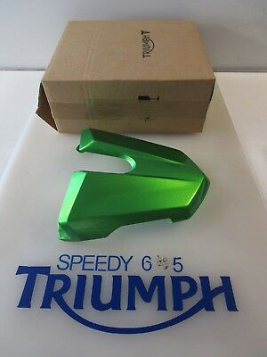 TRIUMPH STREET TRIPLE & R REAR SEAT COWL COSMIC GREEN A9708271 HL 2013 - 2017