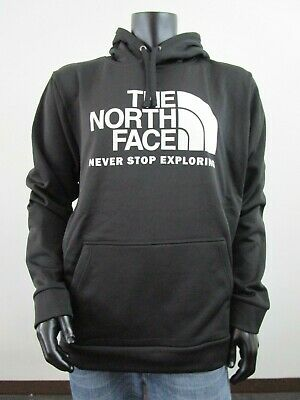 NWT Mens TNF The North Face Surgent PO Hoodie Fleece Lined Sweatshirt - Black