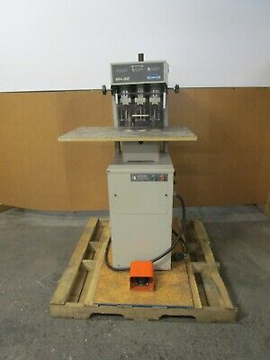 Challenge Eh-3c 3 Spindle Paper Drill 12hp 208230v 1ph 18a