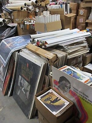 Huge Movie Poster Lobby Card Program Collection 60,000 + pcs. 1940 through 1990s