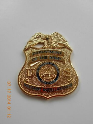 ARMY MI  SHIELD / BADGE without  pins