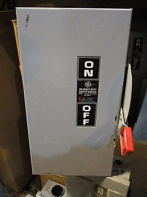 Ge Thn2262dc 60 Amp 600 Volt Disconnect Model 10