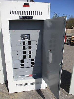 Ge Spectra Panelboard 400 Amp Sgda Main Breaker 120208 Volt 3p4w - E2182