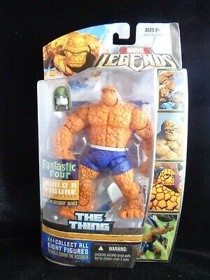 Marvel Legends The Thing 2007 Ronan BAF Fantastic Four New Sealed