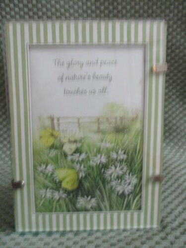 """Natures Sketchbook Marjolein Bastin """"The glory and peace...touches us all"""" frame"""