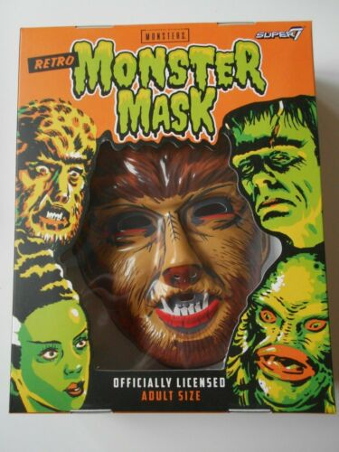 Universal Monsters Wolfman Super 7 Retro Monster Mask like Ben Cooper