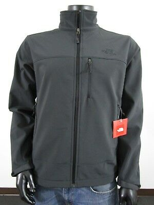 Mens TNF The North Face Apex Bionic FZ Softshell Windproof Jacket Black / Black (North Face Apex Bionic Jacket)