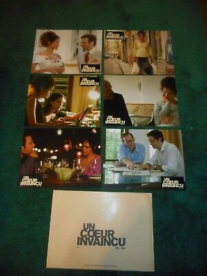 A MIGHTY HEART - ORIGINAL SET OF 6 FRENCH LOBBY CARDS - 2007 - ANGELINA JOLIE