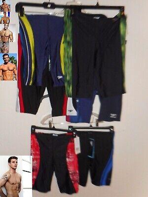 NEW Speedo Jammer Mens Compression Swimsuit 26 28 30 32 34 36 (Mens Compression Swimwear)