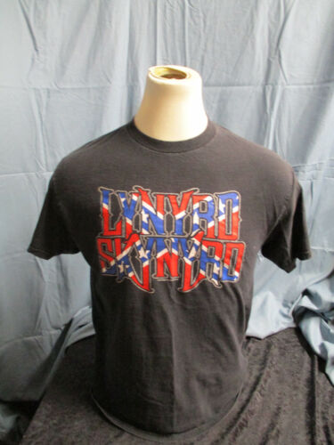 Vintage 2001 Lynyrd Skynyrd 2001 Outta The Hole Touring Black T-Shirt LARGE