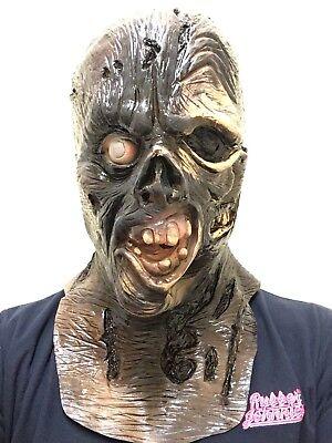 Jason VII 7 Halloween Maske Friday Horror Kostüm Masken Blutig Kapuze ()