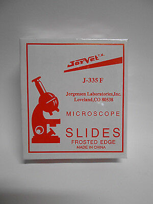 Lot Of 5 Boxes Of 72 Clear Glass Microscope Slides 1 X 3 25.4 X 76.2mm J-335f