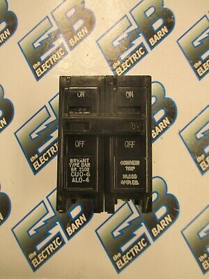 Bryant Br2100 100 Amp 2 Pole 240 Volt Circuit Breaker- Warranty