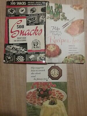 500 Snacks bright ideas for entertaining, 7-up goes to a party recipes & more - Ideas For A Party