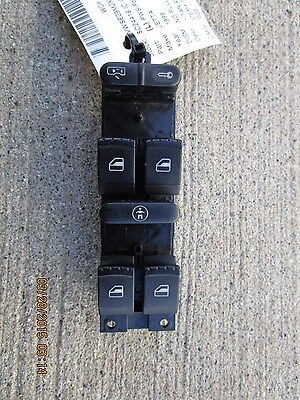 99 VOLKSWAGON JETTA GLS VR6 2.8L V6 EFI 4D SEDAN MASTER POWER WINDOW SWITCH