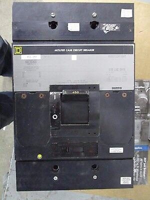 Square D Mhl36450 450 Amp 600 Volt Grey- Warranty Recon W Test Report