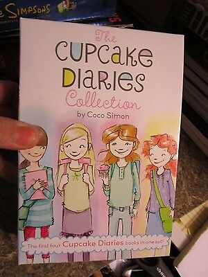 Lot of 4 books in the Cupcake Diaries - by Coco Simon  - FOLLOT