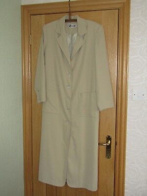 Together! vintage 80/90s oversized long coat uk 12/14 shoulder pads swagger vgc