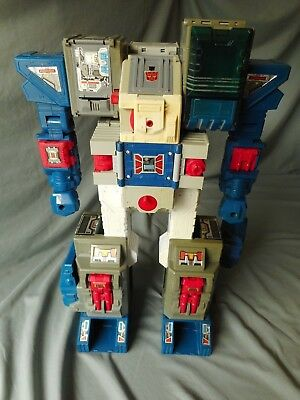 Used, VINTAGE TRANSFORMERS G1 FORTRESS MAXIMUS BODY ONLY 1987 HASBRO FORT MAX for sale  Warwick