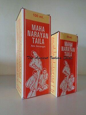 Ashwin Mahanarayan Ayurvedic Medicinal Body Massage Oil Pain -