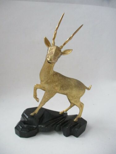 SuHai Sterling Silver Gold Plated Deer #2  Ltd ED 136/560