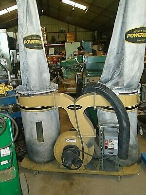Powermatic Pm1900-3 Dust Collector W Canister Kit 3hp 3ph 220-440