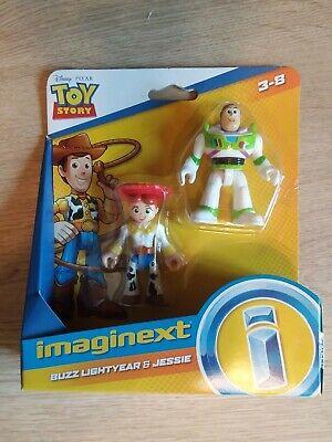 Imaginext Toy Story 4 Buzz Lightyear & Jessie 2-Figure Set