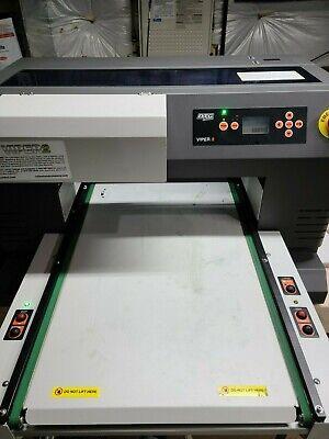 Excellent Condition Dtg Viper2 Direct-to-garment Printerspider Pretreat Bundle