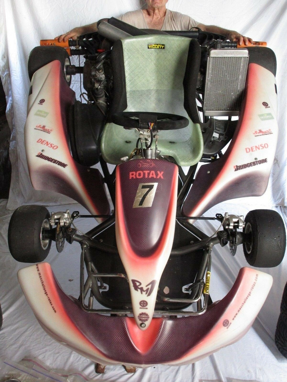 "Racing Go Kart Rotax ""RM-1"" 2-Speed Shifter 125 cc Rotax Engine"
