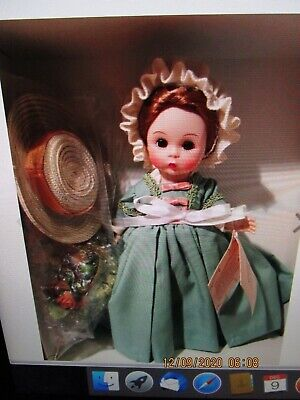 Madame Alexander Colonial Williamsburg The Fall Season 8 in dressed doll