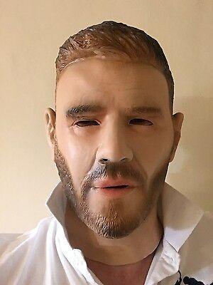 Berühmte Maske (Gary Barlow Voller Kopf Maske Latex Maskenkostüm Berühmt People Take Masken)