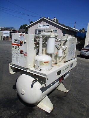2005 Gardner Denver Model Ebe99n Electra Saver 20 H.p. Air Compressor