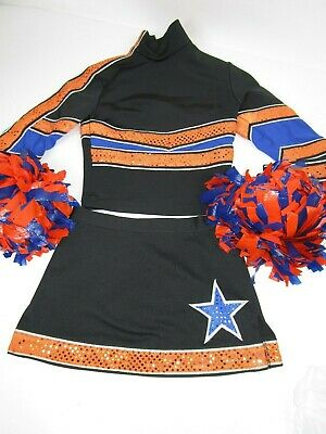Child Cheerleader Uniform Outfit Costume 26