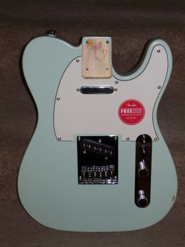 New - 2020, Fully Loaded! - Fender Squier Telecaster Body (Surf Green) Tele