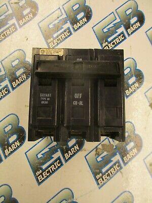 Bryant Br390 90 Amp 3 Pole 240 Volt Circuit Breaker- Warranty