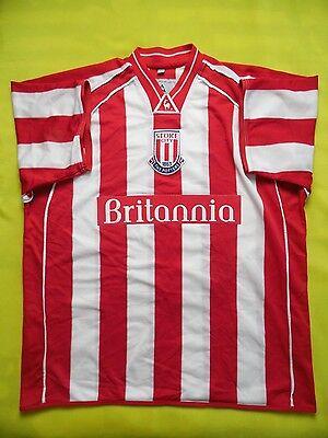 4.9/5 Stoke City 2001-2003 ORIGINAL FOOTBALL SHIRT JERSEY  image