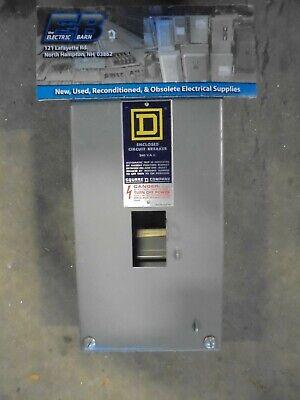 Square D Qo2100 Series A 100 Amp 240 Volt Circuit Breaker Enclosure -en37