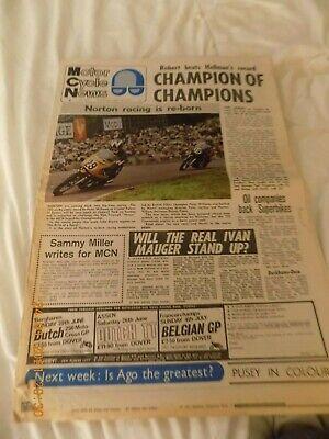 Motor Cycle News/28,4,1971/Norton Racer/Doug Wheeler/Voshkod/Ural/Jupiter/Riga