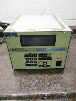 Unitek Miyachi Phasemaster 7 Ac Welding Control Pm7 1-239-03 Free Shipping
